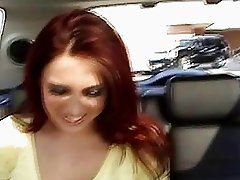 Redhead chick Kylee Strutt picked up by her gfs