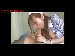 ero Japanese nurse on face