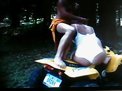 ATV ON SEX IN FOREST