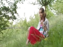 estonian Natashas back to nature