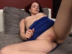 fine czech model Leila gaping hole