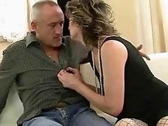 Hot grandma gets fucked pretty hard