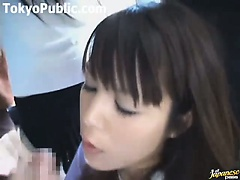Horny Japanese Women On The Public Bus