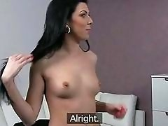 Slim euro hottie Anna sucks and fucks