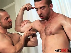 Adam Herst and Scott Hunter