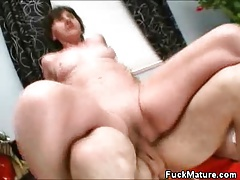 Hot Mature Honey Fucked And Toyed With Her Dentures