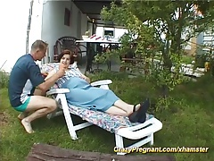pregnant girl fucked in nature