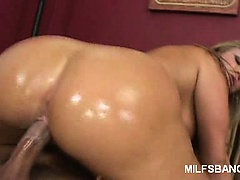 Mean Milf Blowjob