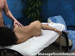 Bailey seduced and fucked by her massage therapist on
