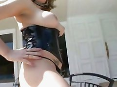 Sweet ass bitch Cassidy Blue mouth fucks a long black cock before being loaded