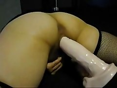 Homemade Wife With Huge Dildo