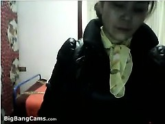 Chinese Grandma Strips Off Her Clothes