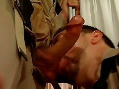 Blowjob done in a military style