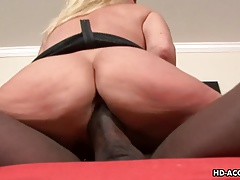 Kinky MILF loves having wild interracial sex