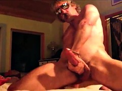 Str8 country dad on the bed