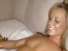 cute girl takes massive cock