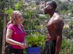 TLBC  White Teen Rammed By Black Athlete