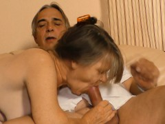 XxxOmas - Mature German granny gets to taste some spunk