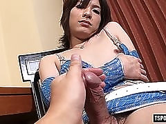 japan shemale rimjob and cumshot movie