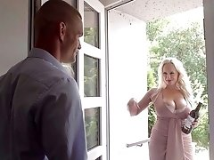 Angel Wicky Is A Bodacious Blonde That Begs For Dick In Her Ass