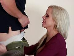 Stepson fucked his big titted stepmom
