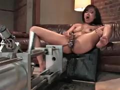 squirting fuck machine