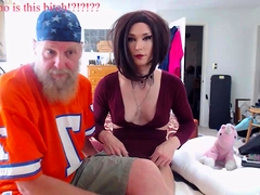 Luscious Tranny Webcam Toying
