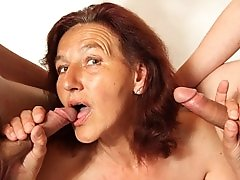 Handjobs from a hot mature