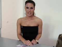 Czech girl fucked and jizzed on boobs for alot of money