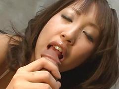 Dude is pleasing japanese babes perky large boobs