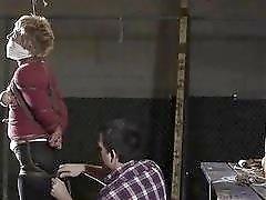 Bondage MILF Alice receives hard punishment from maledom master BDSM