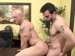 Astounding weenie sucking gay special with 2 males