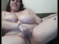 Hot  big boobs bbw masturbate