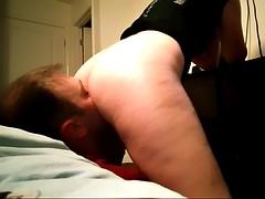 amazing ass licking