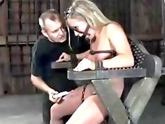 Dia Zerva destroyed with toys and mouth fucked BDSM porn