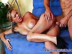 Big Tits Alexia Fucked On Her Boobs