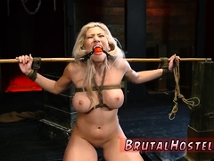 Brutal ass destruction Big-breasted blondie cutie Cristi Ann