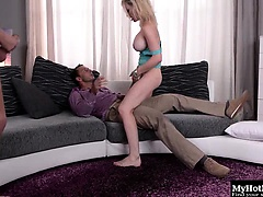 Chessie Kay wants to take more cocks in her holes than...