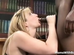 Sara is always ready for a interracial sex session