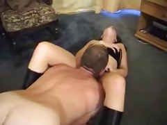 mimosa1 mistress is pleasured by her pet
