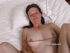 Hairy Girl Cums So Hard She Cries Everytime