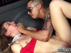 Student bondage gangbang and car vibrator Poor Callie Calypso.