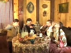 Russian Hookup In Sauna - PornGem