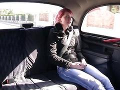 Perky tits passenger nailed real deep
