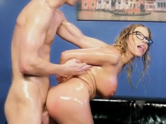 Sexy Harlot Britney Amber Gets Her Anus Impaled