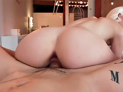chloe couture gets her juicy ass gaped and her pussy creampied