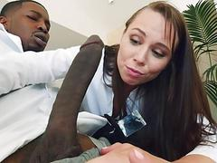 Aidra Fox Deepthroats and Fucks BBC