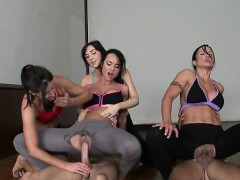 Hot chick gets her cookie fucked in plenty of poses