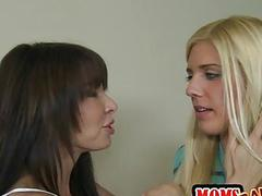 Carmen Monet and Jenna Moore hot 3some love