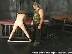 Hot Danielle punished